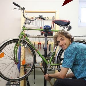 #KulturQuartierLagarde - AK Fahrrad von freund statt fremd